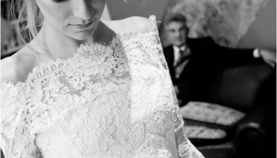 I love all the lace, and the fact that the long sleeves