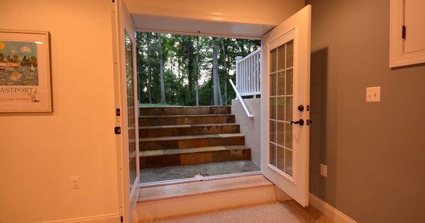 basement walk out and egress windows ideas basement finishing and