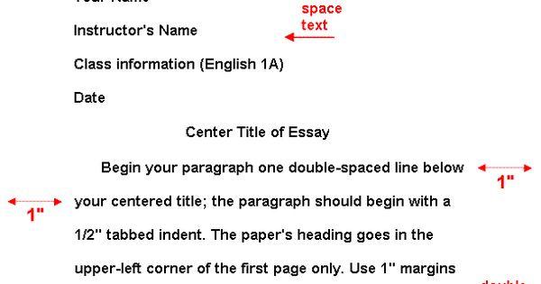 essay header mla