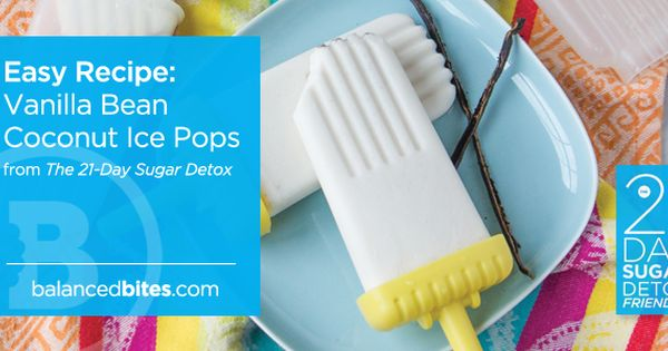 Vanilla bean pops