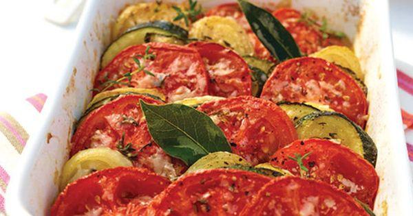 Tian de tomates et courgettes | cooking ideas | Pinterest | Bay Leaves ...