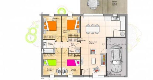 Plan Achat Maison Neuve Construire Maisons Open 4ch