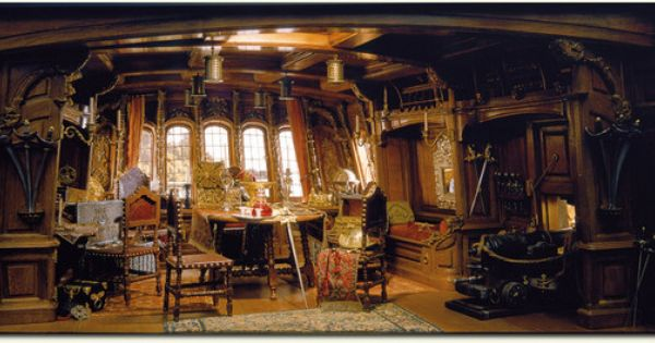 Pirate Captain S Cabin By Hernry Kupjack Pirate Ship Pirates