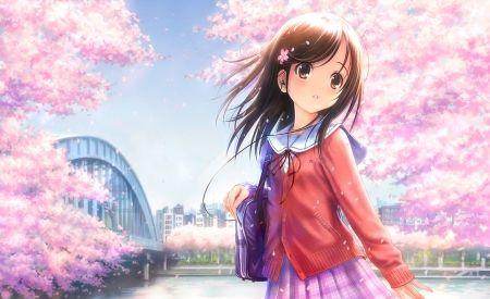 Pin On Anime Beautiful wallpaper anime girls