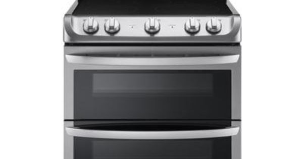 Lg 7 2 Cuft Capacity Electric Double Oven Range With