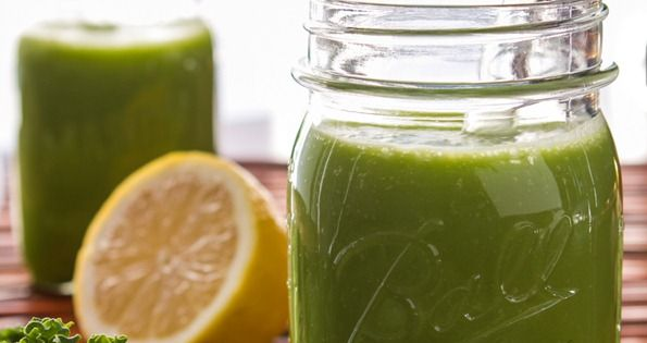 Back on Track Green Monster from Oh She Glows... a banana-free green
