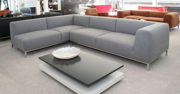 Campala hoekbank new comfort 581 lichtgrijs banken pinterest products - Eigentijdse design lounge ...