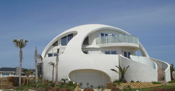 Dome house florida usa strange buildings saw this on for Architectural concepts pensacola florida