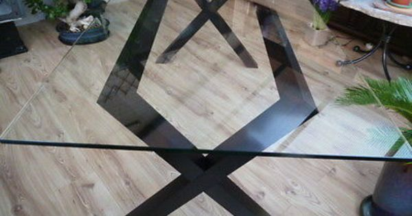 Habitat Dublin 6 Seater Toughened Glass Dining Table Ebay With