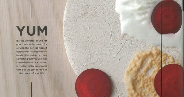 Fisher & Paykel print ad, designed by Alt Group - simple, yummy.