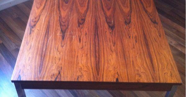 Beistell Oder Wohnzimmertisch Retro Tisch Ca 40 Cm Hoch