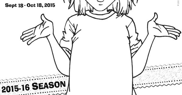 junie b coloring pages - junie b jones the musical stages theatre company