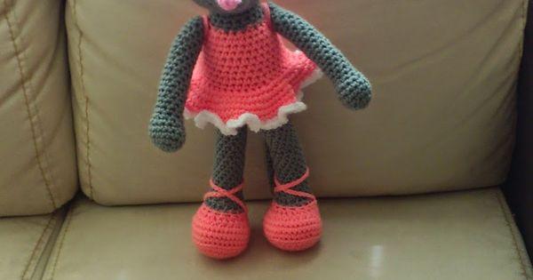 Ballerina Mouse (Free - Use translation) Amigurumi ...