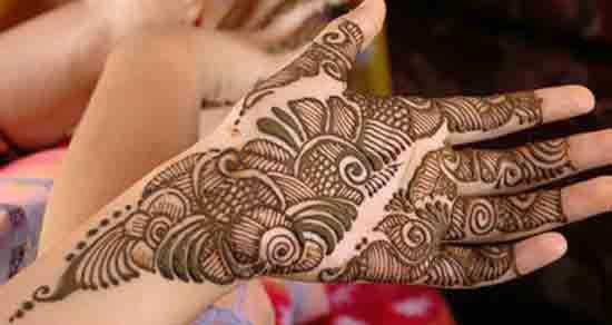 pakistani arabic mehndi designs front hand