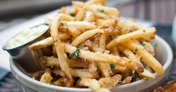Parmesan, Aioli and Garlic parmesan fries on Pinterest
