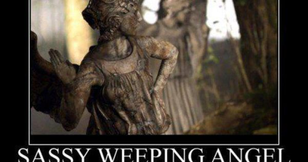 Sassy Weeping Angel… doctorwho