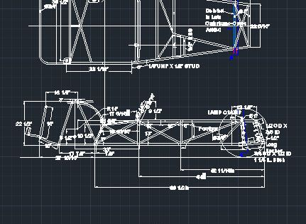 Lotus Super 7 Series 2 Chassis Frame Dwg Cad Atom Build