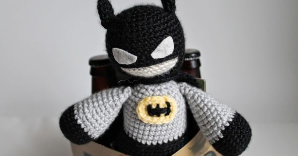 Crochet Pattern Our Father : Batman for Fathers Day (Crochet Pattern) - DIY - crochet ...