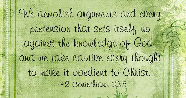 Memory Verse for Week 2 (Chapter 4) of online bible study Unglued.