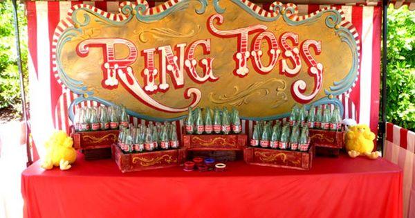 Coke Bottle Ring Toss Carnival Game Shareacokecontest