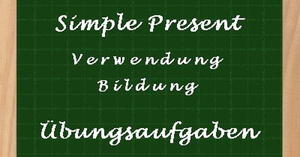 Simple Present #Übungen zum #Ausdrucken mit #Lösungen Als ...