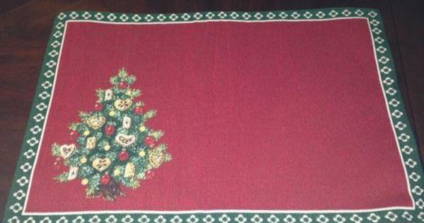 Villeroy Boch Christmas Eve 2013 Toy S Delight Tree Cloth Place Mat Villeroy Boch Christmas Placemats