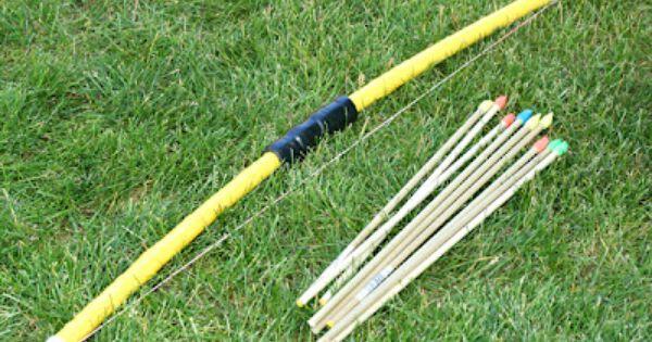 Kid friendly pvc bow and arrow repurposed pvc for Kids pvc bow