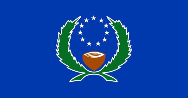 Flag Of Pohnpei Pohnpei Federated States Of Micronesia Micronesia Flag