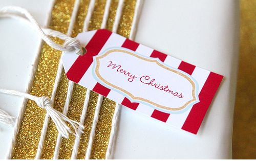 Free Printable Holiday Tags {Gift Exchange} | Living Locurto - Free Party