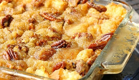 Pecan Pie Bread Pudding, if you like bread pudding and you like