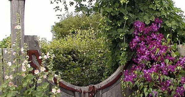 The French Tangerine Enchanted Garden Entry Garden Pinterest Enchanted Garden Gardens