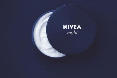 "Nivea night cream poster ""Ah... simplicity"""