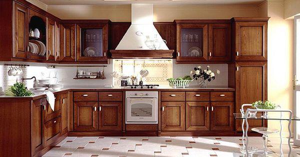 Cocinas de madera decoraci n y dise o de cocinas r sticas - Disenos de cocinas modernas ...