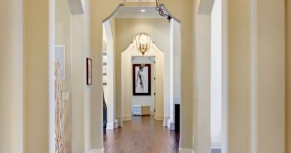 Arch Niches In Hallways Design Ideas, Pictures, Remodel, and Decor - page