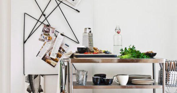 wandaufbewahrung kitchen inspirations pinterest rezepte haken und selber machen. Black Bedroom Furniture Sets. Home Design Ideas