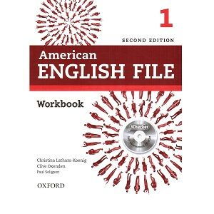 American English File 1 Workbook 2nd Edition Libro Ingles