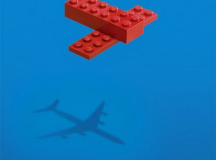 Art Direction. Print Ad. Creative. Lego. Ad agency: Leo Burnett, Moscow.