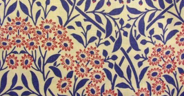 Textile Design / William Morris