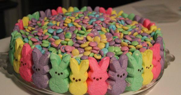 Peeps Easter Cake Idea