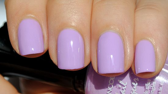 This pastel purple is bright and evokes springtime lilacs! DOWNLOAD THE  NAILS ON CALL APP NOW. Treat Yourself, YOU… | Lavender nails, Purple nails,  Purple manicure