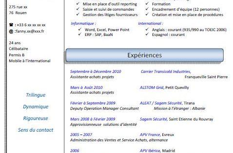 Exemple Cv Assistant De Direction Cv Anonyme Exemple Cv Assistante De Direction Modele Cv
