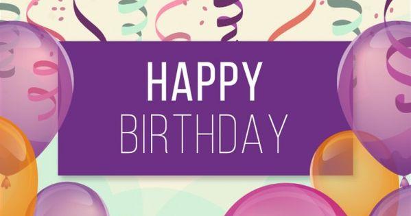 Pin By Hanna Kropkowska On Happy Birthday: Happy Birthday Images Hd - Google Search