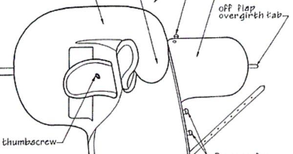 side saddle diagram