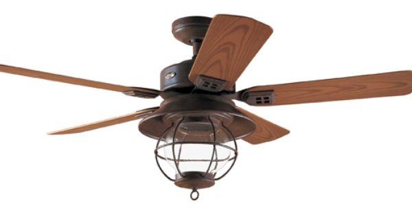 Hunter 52 Quot Ceiling Fan Outdoor Rustic Brown Hr 20721 Fan