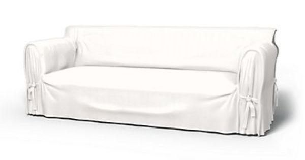 Loose Fit White Linen Sofa Slipcover Bemz Sofa Covers White