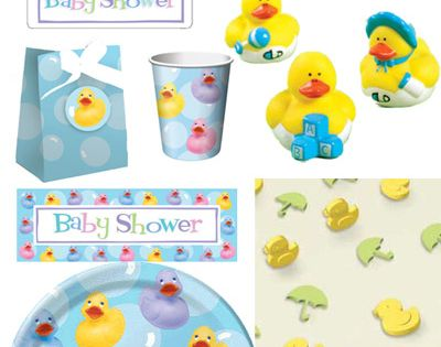 ever have kids this would so be my theme rubber ducky baby shower
