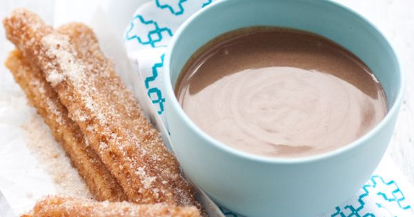 churros with spiced chocolate bisque | Dia De Los Muertos ...