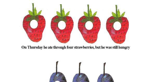 Very Hungry Caterpillar Food Labels Pdf Google Drive