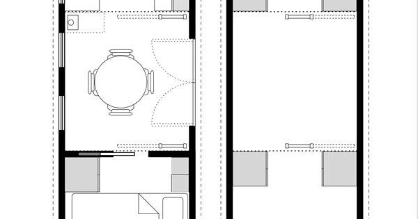 8x24 tiny house plans tiny house blog archive tiny for House floor plan books