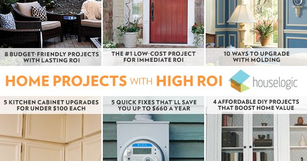 33 of the best home improvement projects to choose for a for Best return on investment home improvements
